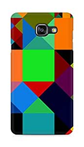 Amez designer printed 3d premium high quality back case cover for Samsung Galaxy A5 (2016 EDITION) (Figures colorful)