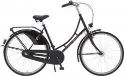 "Holland Nostalgie Damen ""Eco"" Fahrrad schwarz 50 cm"
