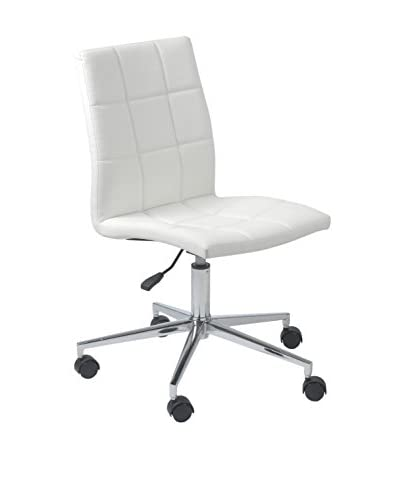Euro Style Cyd Office Chair, White