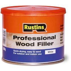 rustins-profesional-madera-relleno-500g-blanca