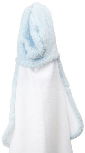 "Little Giraffe Chenille Towel, 41"" X 24"", Blue"