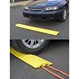 "Eagle 1793 Speed Bump Cable Protector, 108"" Length x 10"" Width x 2"" Height, Yellow"