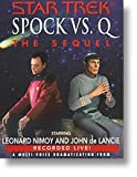 Spock vs. Q: The Sequel (Audiofy Digital Audiobook Chips) (1600834329) by Leonard Nimoy