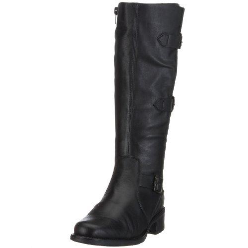 Rieker Women's Elvira Z7379 Black Knee High Boot Z7379/00 8 UK