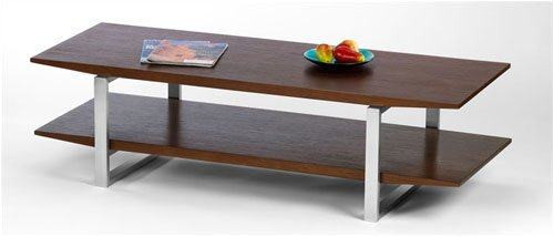 Breeze Coffee Table with Stainless Steel Legs