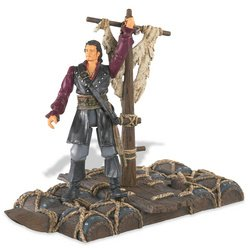 Buy Low Price Zizzle Pirates of the Caribbean 3: Will Turner 3.75″ Figure with Spinning Powder Keg Raft (B000PCCSPS)