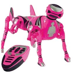 Amazon Com Robo Pet Pink Robotic Dog Toys Amp Games