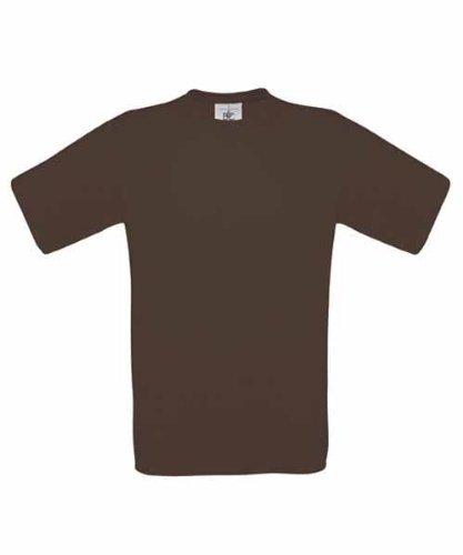 B&CHerren T-Shirt Braun Braun M,Braun - Braun
