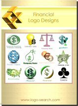 Financial Logo Design Collection for Business Marketing, Branding and Advertising