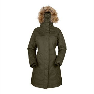 The North Face Women's Arctic Parka (L, Fig Green)