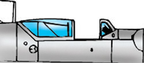 Squadron Products Avia S-199 Vacuform Canopy