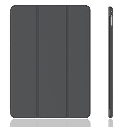 iPad Mini 4 Case, JETech Gold Serial Apple iPad Mini 4 Slim-Fit Folio Smart Case Cover with Auto Sleep/Wake for Apple New iPad Mini 4 Released on 2015 (Dark Grey) - 3285 (Slim Folio For Ipad Mini compare prices)