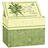 Lang Recipe Card Box, Seeds Of Friendship