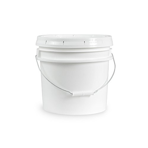 Food Grade 3.5 Gallon Bucket – 6 Pack With Lids