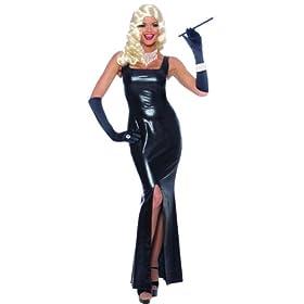 Black and sleek, good choice for your Oscar party