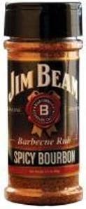 Hot Sauce Depot 60296005 Jim Beam Spicy Bourbon Rub, 3.5oz - Pack of 3 from Hot Sauce Depot