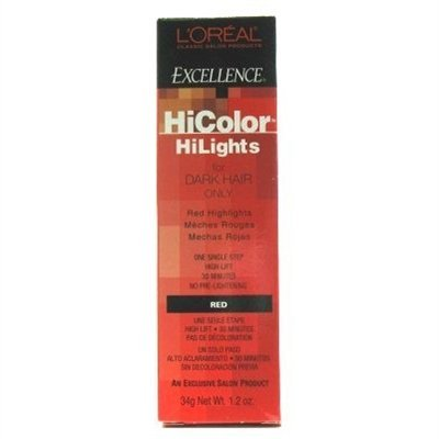 L'OREAL Excellence HiColor HiLights Permanent Creme HC-05102 Red