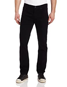 Levi's Men's 511 Slim Fit Jean, Black Stretch, 32x30