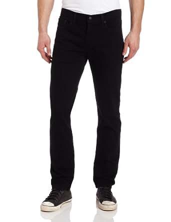 Levi's 511 Skinny Jeans en noir (Stretch), 34W x 32L, Black