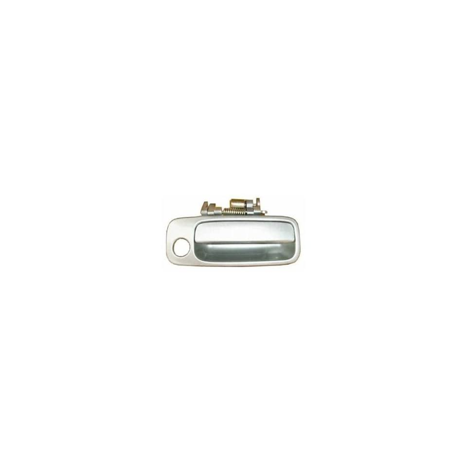 #B458 Motorking 69220AA010C0 97 01 Toyota Camry Silver 1C8 Replacement Passenger Side Outside Door Handle 97 98 99 00 01