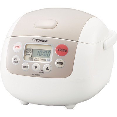 Zojirushi NS-VGC05 Micom 3-Cup (Uncooked) Electric Rice Cooker and Warmer from Zojirushi