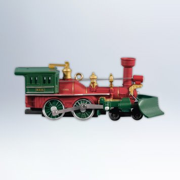 Nutcracker Route Train Lionel #17 2012 Hallmark Ornament
