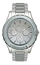 DKNY End of Season Analog Silver Dial Womens Watch - NY2117