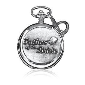 Pewter Pocket Watch-WD524