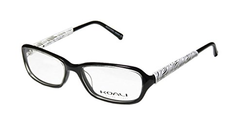 koali-7069k-womens-ladies-eyeglasses-eye-glasses-51-16-135-black-white