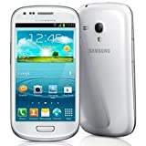 Samsung Galaxy S3 Mini GT-I8200 factory Unlocked, 1.2 GHz dual-core Cortex-A9,  International Version Cell Phone, White