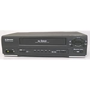 Amazon.com: Emerson EWV401B Video Cassette Recorder Player VCR Da