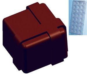 Fat Daddio's Square Gift Box Polycarbonate Candy