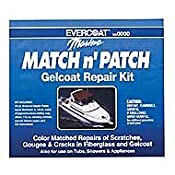 Amazon.com: Match N Patch Gel Coat Repair Kit Match'n Patch Gelcoat Repair Kit: Sports & Outdoors