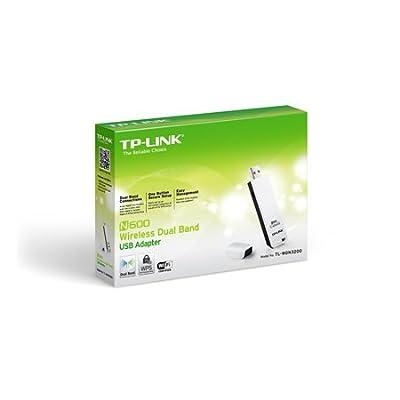 TP LINK Tp-Link TL-WDN3200 IEEE 802.11n USB - Wi-Fi Adapter. N600 WL DUAL BAND ADAP 11ABGN 300MBPS 2.4GHZ USB...