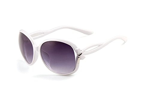 Darkey Wang Women's Fashion Big Round Metal Frame Crescent Eyebrows Pink Sunglasses (Vogue Tires 15 compare prices)