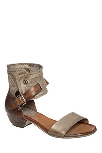 Cali Low Heel Ankle Strap Sandal