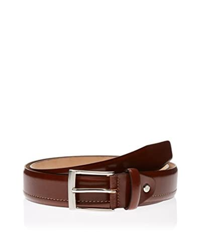 Ortiz & Reed Cintura Pelle Brown Leather Belt [Marrone]