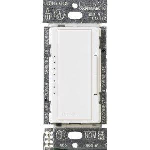 Lutron Macl-153M-Wh Maestro 150-Watt Multi-Location Cfl/Led Digital Dimmer ***Lot Of 4***
