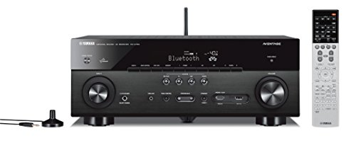 Yamaha RX-A750 7.2-Channel Network AV Receiver with Built-In Wi-Fi and Bluetooth (Black)