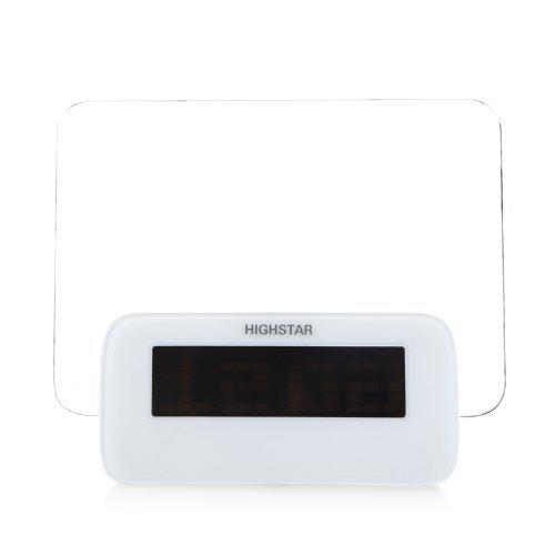 HIGHSTAR Digital Message Board Reveil Temperature Calendrier minuterie(Bleu)