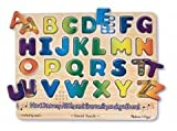 Wooden Preschool Alphabet Puzzle w/ Sound - Ages 3+