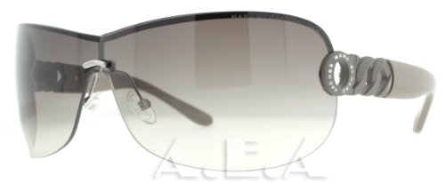 Marc By Marc Jacobs Marc by MJacobs MMJ337/S Sunglasses-0SMF Black Gray (CC Brown Grad Lens)-99mm