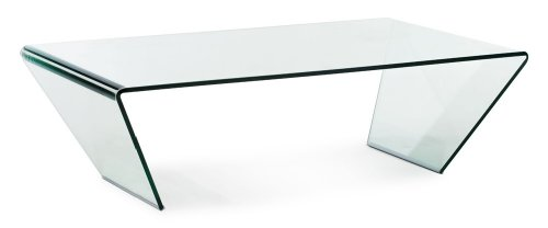 Zuo Modern Migration Coffee Table In Clear Glass