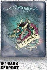 iPad 1 case - Ed Hardy Dragon (Seaport) 1st Generation iPad case for iPad1 (Oct 2010)