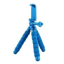 Original Fotopro RM-95 Mini Universal Octopus Tripod Holder Bracket For Cellphone Tablet Camera-Blue