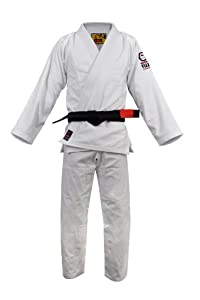 Fuji BJJ Uniform, White, A3