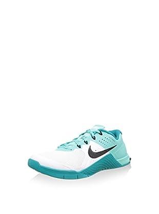 Nike Zapatillas Wmns Metcon 2 (Blanco / Verde Agua)