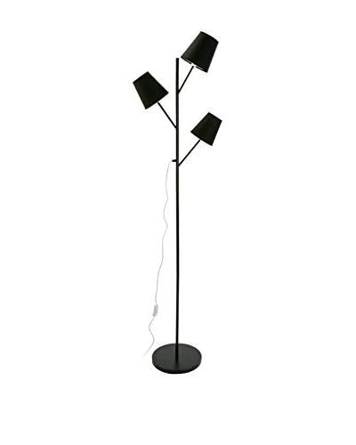 Mimma Verlichting vloerlamp zwart