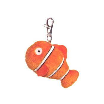 Aurora World Plush - Fanta-Sea Life Clip On - CLOWNFISH (4 inch)
