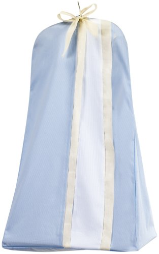 Picci Positano Diaper Stacker in Blue and Cream
